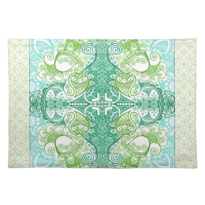 Paisley Dreams Cloth Placemat