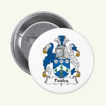 Paisley Family Crest Button