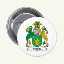 Paisley Family Crest Button