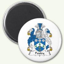 Paisley Family Crest Magnet