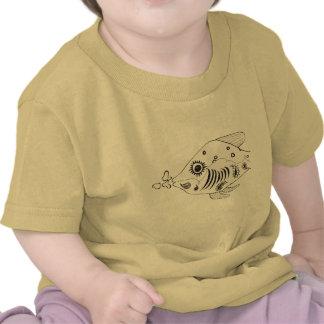 Paisley Fish Tshirts