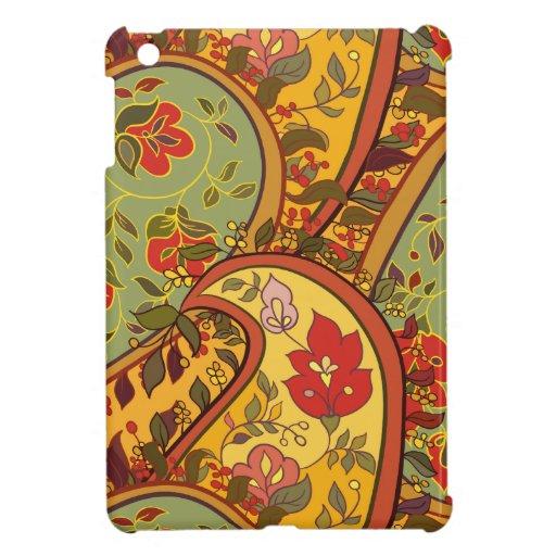 Paisley floral multicolora iPad mini protector