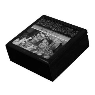 Paisley Flower Keepsake Box