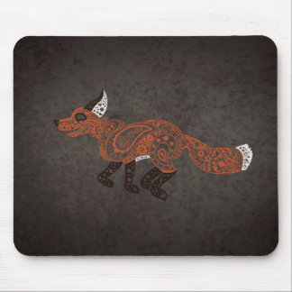 Paisley Fox Mousepad