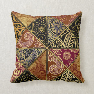 Paisley Fractured Pattern Pillow