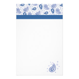 Paisley Frost Stationery