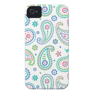 Paisley Fun iPhone 4 Case-Mate Cases