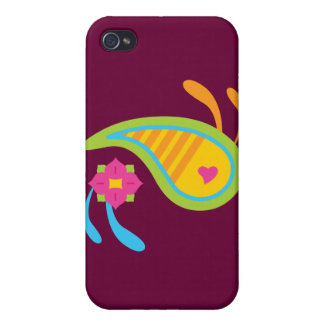 Paisley Fun iPhone 4 Cover