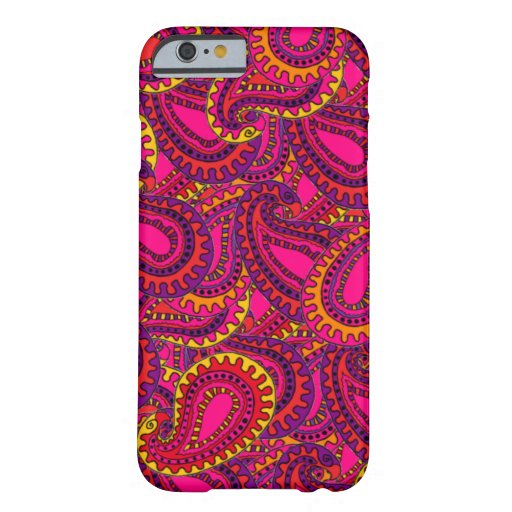 Paisley Funda Barely There iPhone 6