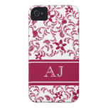 Paisley Garden with Changable Color iPhone 4 Case-Mate Cases
