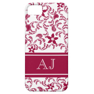Paisley Garden with Changable Color iPhone 5 Cases