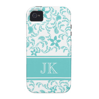 Paisley Garden with Changable Color iPhone 4/4S Case