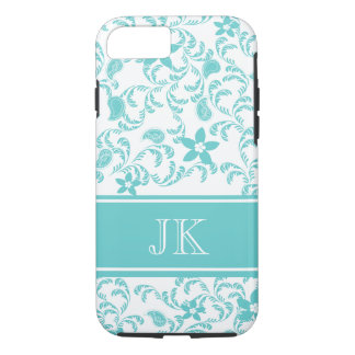 Paisley Garden with Changable Color iPhone 7 Case