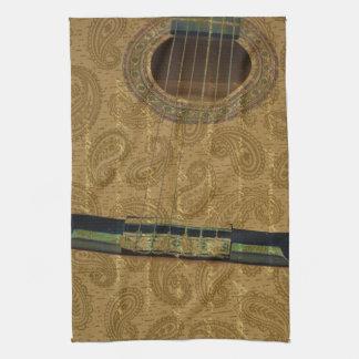 Paisley Guitar Towels