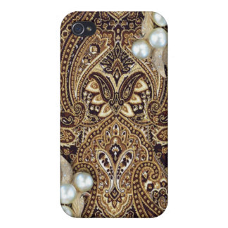 Paisley Hard Shell Case for iPhone 4/4S