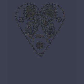 Paisley Heart shirt