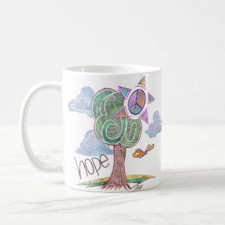 Paisley Hope Tree Mug