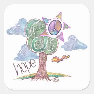 Paisley Hope Tree Stickers
