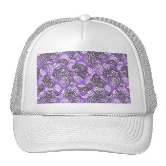 Paisley in Purple Trucker Hats