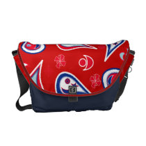 Paisley Independence Courier Bag