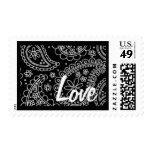 Paisley Love Stamp