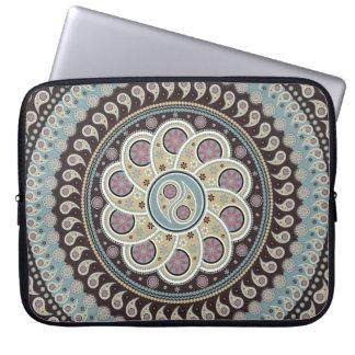 Paisley Mandala Computer Sleeves