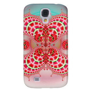 Paisley Melons Merging Galaxy S4 Case