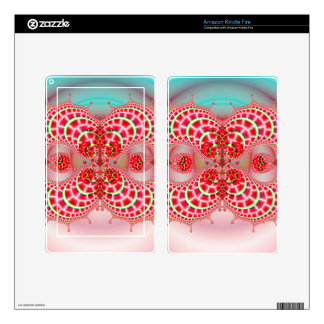Paisley Melons Merging Kindle Fire Skin