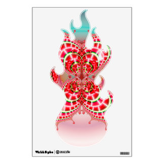 Paisley Melons Merging Wall Sticker