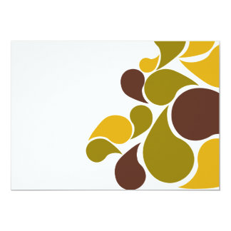 Paisley_Modern 5x7 Paper Invitation Card