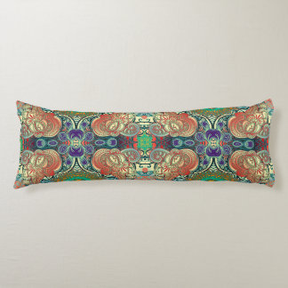 Paisley Mosaic Pattern I + your ideas Body Pillow