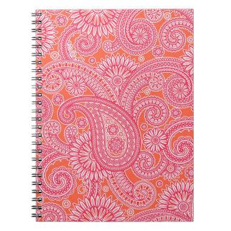 Paisley Notebook
