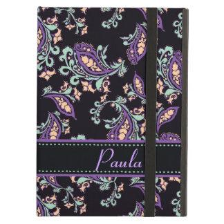 Paisley on Black iPad Covers