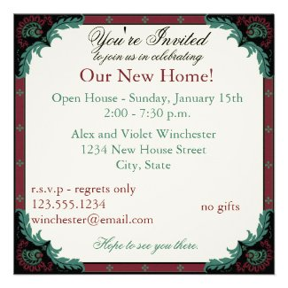 Paisley Open House/Housewarming Party