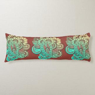 Paisley Ornaments I + your backgr. & ideas Body Pillow