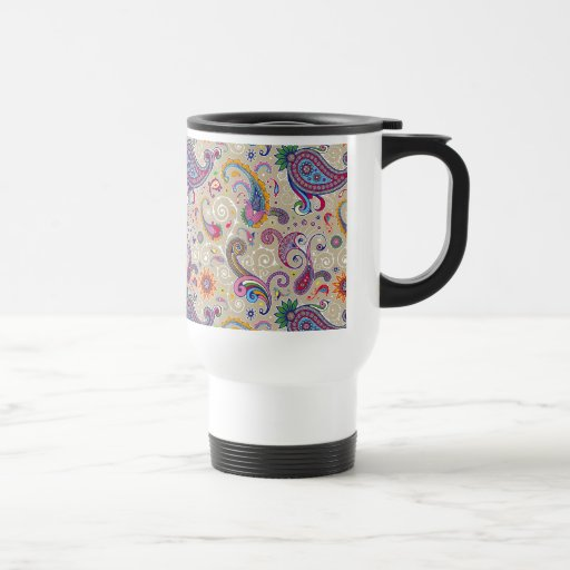Paisley pacífica taza de café