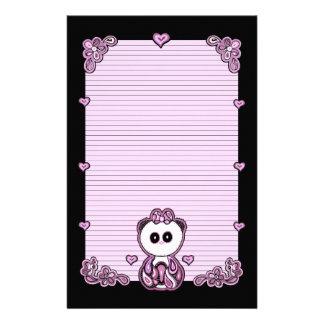 Paisley Panda Paper Stationery