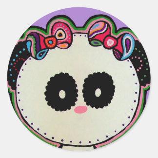 Paisley Panda Stickers