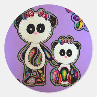 Paisley Panda's Stickers