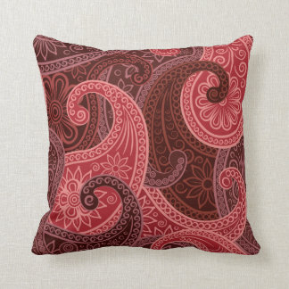 Paisley Paradise in Apple Pillow