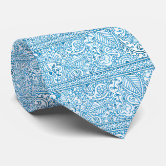 Paisley Passion - Blue (Henna) Tie