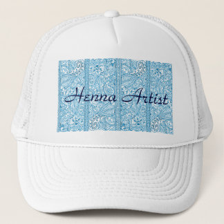 Paisley Passion - Blue (Henna) Trucker Hat