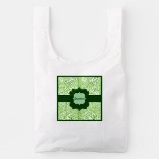 Paisley Passion - Green (Henna) Reusable Bag