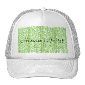 Paisley Passion - Green (Henna) Trucker Hat