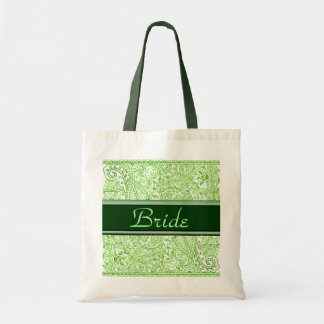 Paisley Passion - Green (Henna) (Wedding) Bags