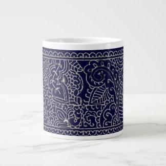 Paisley Passion (Henna) Giant Coffee Mug