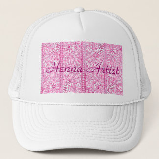 Paisley Passion - Pink (Henna) Trucker Hat