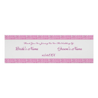 Paisley Passion - Pink (Henna) (Wedding) Poster