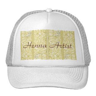 Paisley Passion - Yellow (Henna) Trucker Hat
