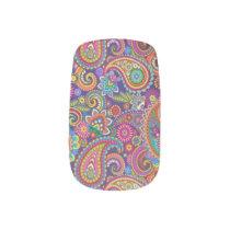 Paisley Pattern Background  Minx Nail Art